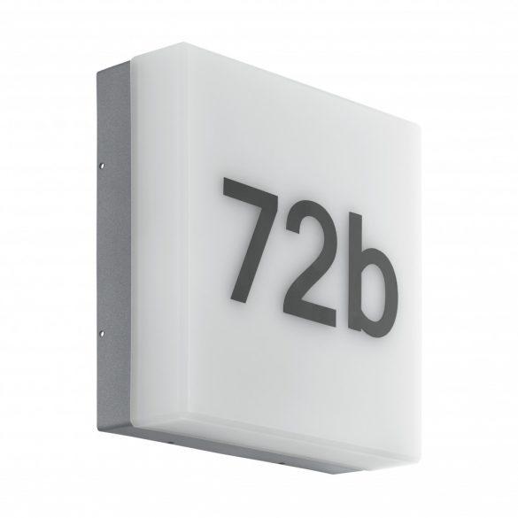 Eglo kültéri LED fali 8,2W szenz antracit/fehér Cornale