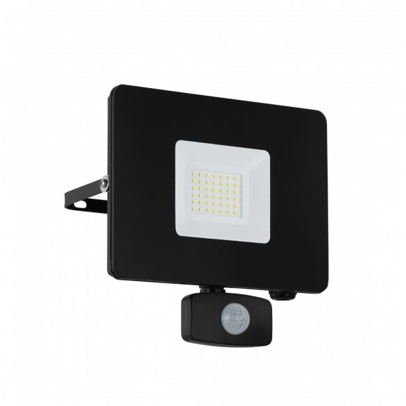 Eglo kültéri LED reflektor 30W szenzoros fekete Faedo3
