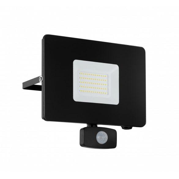 Eglo kültéri LED reflektor 50W szenzoros fekete Faedo3