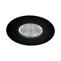 Eglo LED beépíthető 6W 2700K 8,8cm áll fek SALICETO