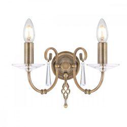 ELSTEAD Aegean 2Lt fali lámpa  bronz
