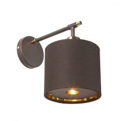 ELSTEAD Balance Brown/csiszolt sárgaréz fali lámpa