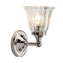 ELSTEAD Bathroom Austen1 csiszolt nikkel fali lámpa