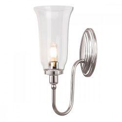ELSTEAD Bathroom Blake2 csiszolt nikkel fali lámpa