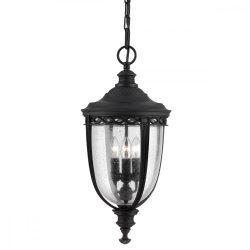 ELSTEAD English Bridle 3Lt (nagy méretű) függeszték lámpa fekete