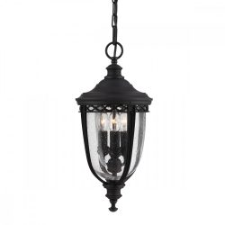 ELSTEAD English Bridle 3Lt (közepes méretű) függeszték lámpa fekete