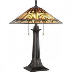 ELSTEAD Alcott asztali lámpa Tiffany kollekció
