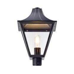 DANDY kültéri lámpafej ARTIC (107122) modellhez fekete/üveg E27 1x100W